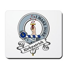 Kirkpatrick Clan Badge Mousepad
