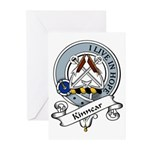 Kinnear Clan Badge Greeting Cards (Pk of 10)