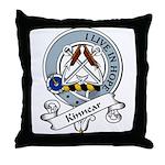 Kinnear Clan Badge Throw Pillow