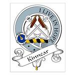Kinnear Clan Badge Small Poster