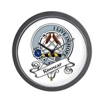 Kinnear Clan Badge Wall Clock