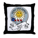Kerr Clan Badge Throw Pillow