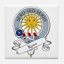 Kerr Clan Badge Tile Coaster
