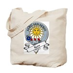 Kerr Clan Badge Tote Bag