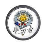 Kerr Clan Badge Wall Clock