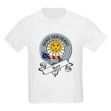 Kerr Clan Badge Kids T-Shirt