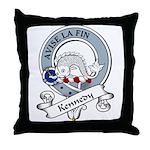 Kennedy Clan Badge Throw Pillow