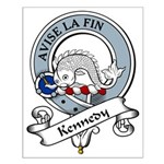 Kennedy Clan Badge Small Poster