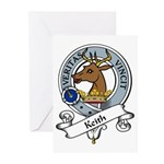 Keith Clan Badge Greeting Cards (Pk of 10)
