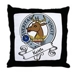 Keith Clan Badge Throw Pillow