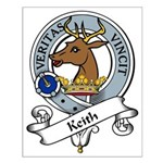 Keith Clan Badge Small Poster