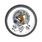 Keith Clan Badge Wall Clock
