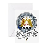 Johnstone Clan Badge Greeting Cards (Pk of 10)
