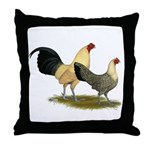 OE Bantams Cream Buttercup Throw Pillow