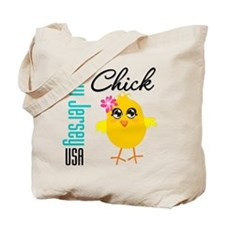 New Jersey Chick Tote Bag