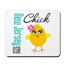 New Jersey Chick Mousepad