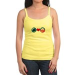 Eye Heart Obama Jr. Spaghetti Tank Top
