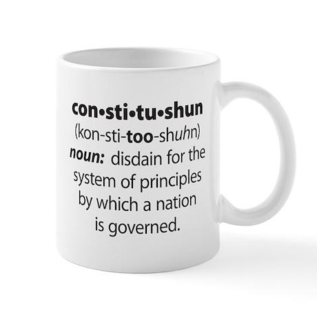 Constitushun Mug