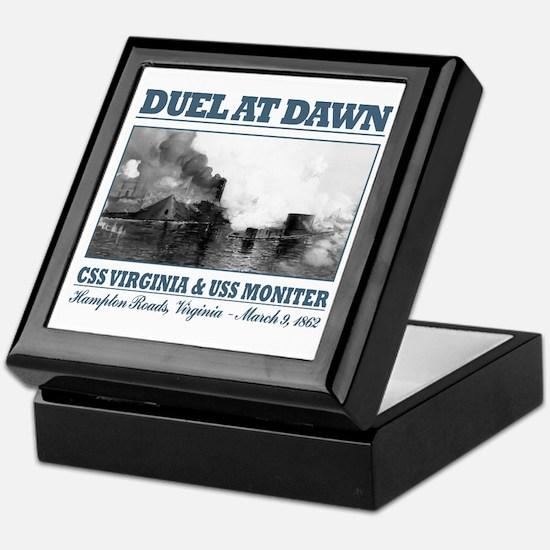 Duel At Dawn Keepsake Box