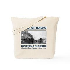 Duel At Dawn Tote Bag