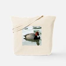 Redhead Drake Photograph Tote Bag