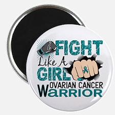 "Licensed Fight Like A Girl 2.25"" Magnet (100 pack)"