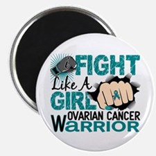 "Licensed Fight Like A Girl 2.25"" Magnet (10 pack)"