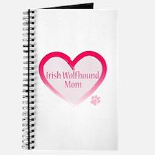 Wolfhound Pink Heart Journal
