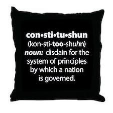 Constitushun Throw Pillow