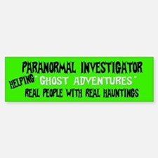 Ghost Adventures Bumper Bumper Sticker