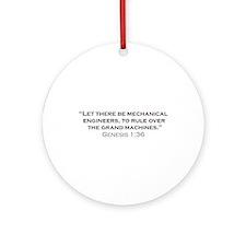 ME / Genesis Ornament (Round)