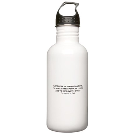Orthodontist / Genesis Stainless Water Bottle 1.0L