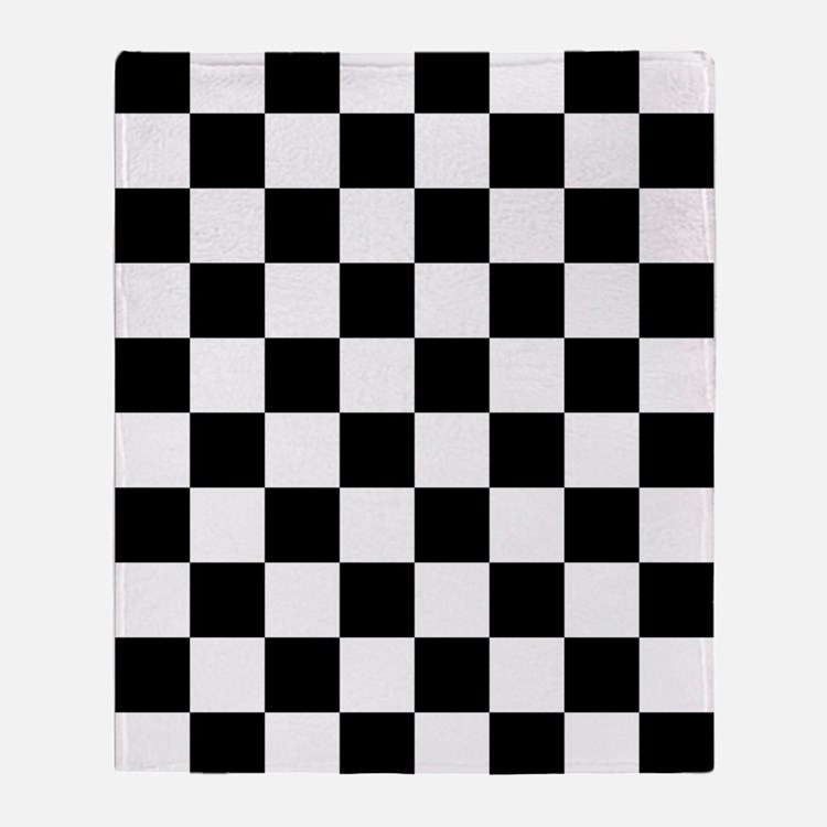 Checkerboard Throw Blanket