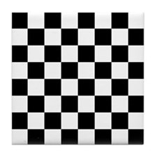 Checkerboard Tile Coaster