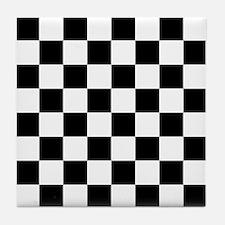 Checkerboard Tile Coaster