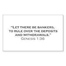 Banker / Genesis Decal