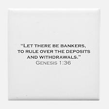 Banker / Genesis Tile Coaster