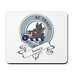 Innes Clan Badge Mousepad