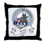 Innes Clan Badge Throw Pillow