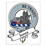 Innes Clan Badge Small Poster
