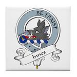 Innes Clan Badge Tile Coaster