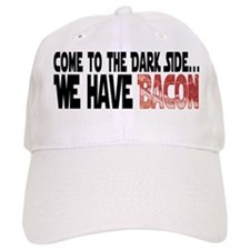 Dark Side of Bacon Baseball Cap