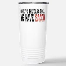 Dark Side of Bacon Travel Mug