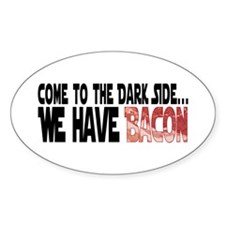 Dark Side of Bacon Decal