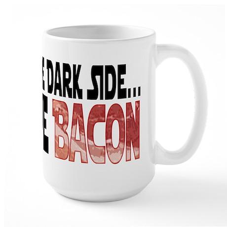 Dark Side of Bacon Large Mug