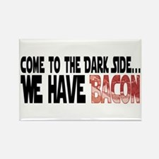 Dark Side of Bacon Rectangle Magnet