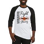 Leukemia Fight Strong Baseball Jersey