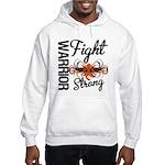 Leukemia Fight Strong Hooded Sweatshirt