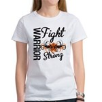 Leukemia Fight Strong Women's T-Shirt