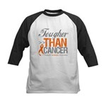 Tougher Than Cancer Kids Baseball Jersey